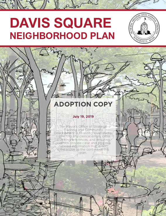 Davis Square Neighborhood Plan Title Page